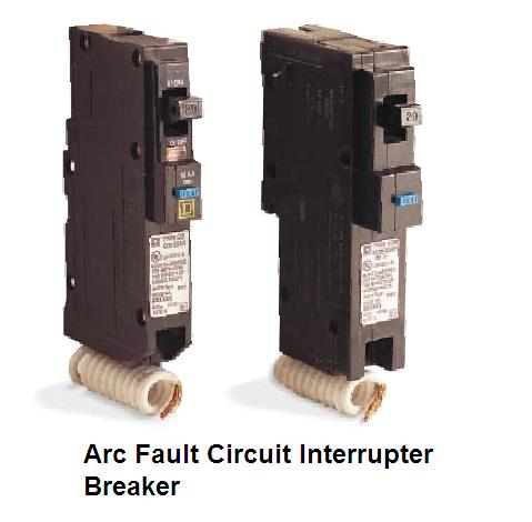 In Orillia, Gravenhurst, Bracebridge or Muskoka during my home cottage or commercial inspections I am always on the look out for any signs of arcing. Here is a web photo of two types of arc fault circuit interupters.  .It is easy to spot the difference between an AFCI  and a GFCI. All AFCI`s will have white, pigtail to connect them to the netural buss. During my home , cottage, and commercial inspections I look for the white pigtail to be sure my clients are protected.